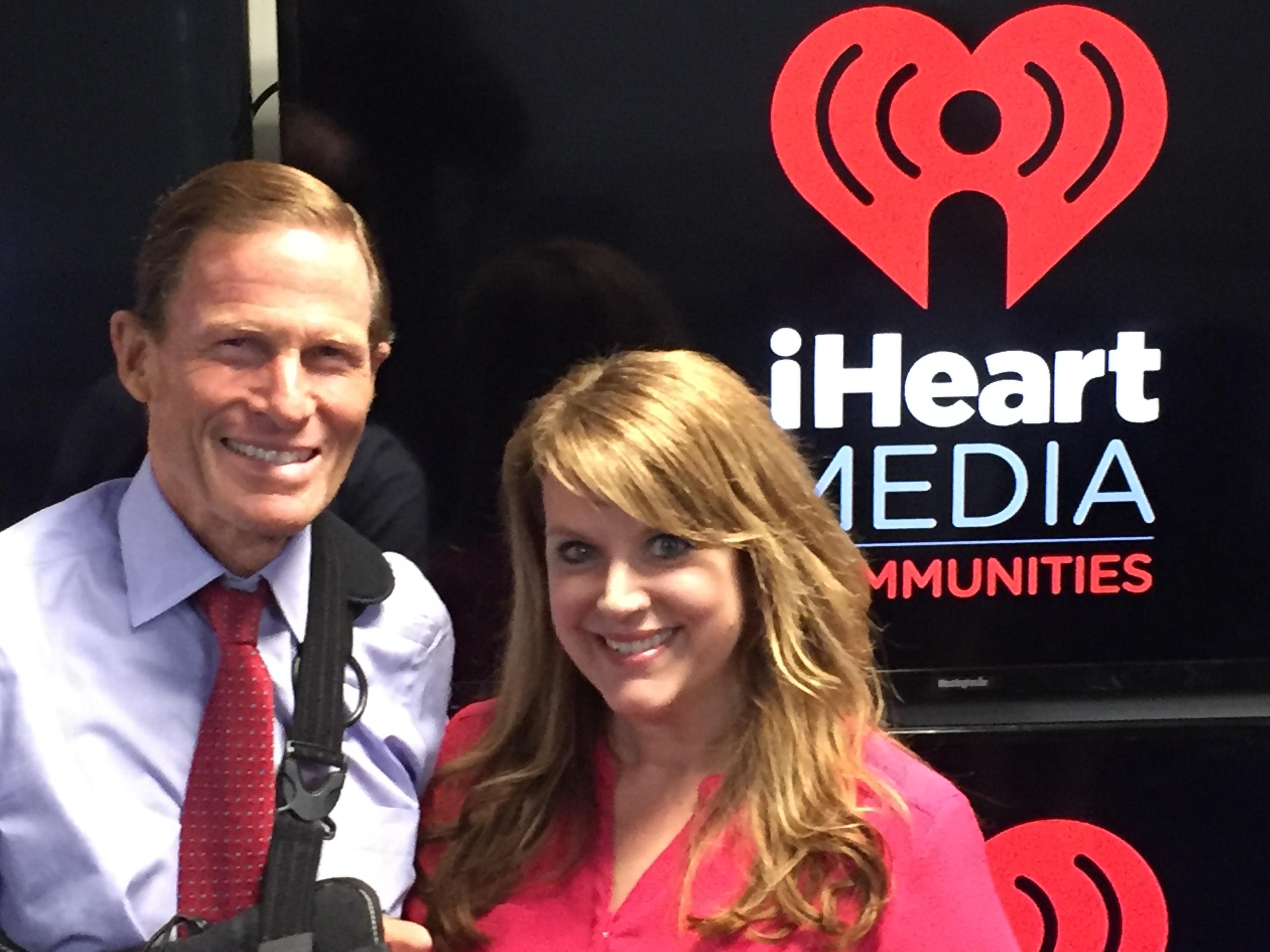 Senator Blumenthal and iHeart Media